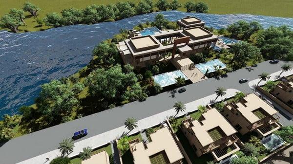 إفتتاح المرحلة الثانية من مشروع الوادي الأخضر بمراكش