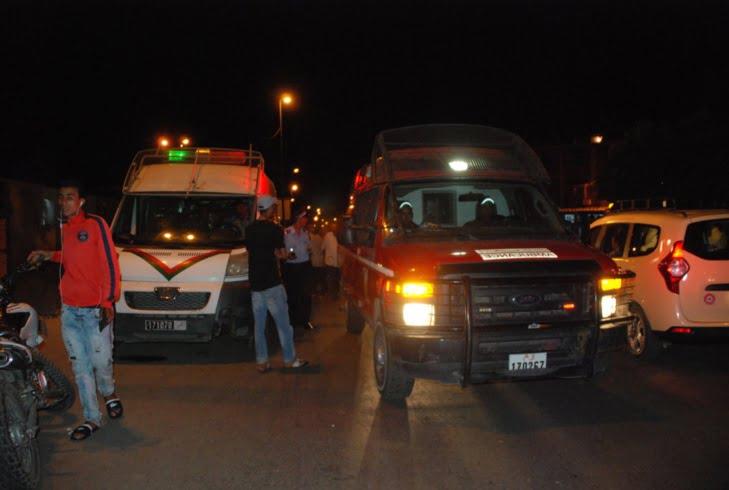 قتيلان في حادثة سير خطيرة بالحي الصناعي بمراكش