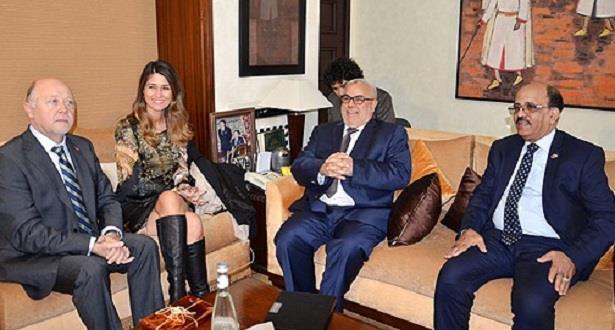 رئيس الحكومة يستقبل وفدا عن مجموعة الصداقة البرلمانية الشيلية المغربية