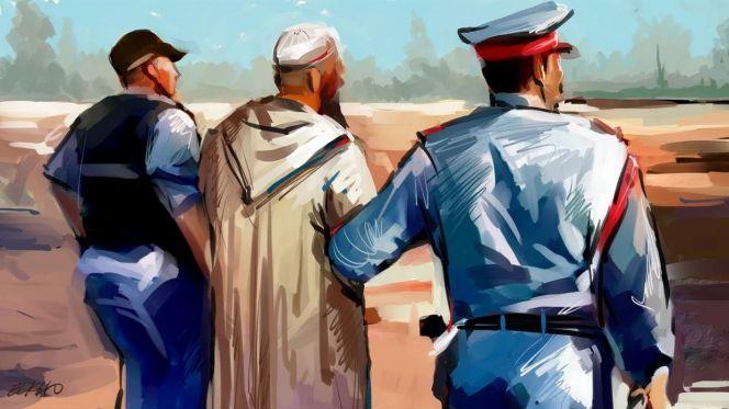 سكوب: اعتقال بقّال