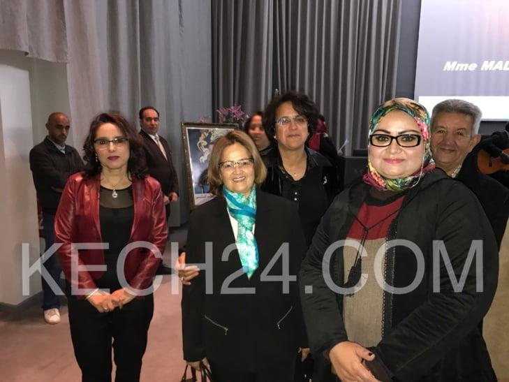 تكريم بلقوادسي المديرة الجهوية للمكتب الوطني للماء الصالح للشرب بمراكش + صور