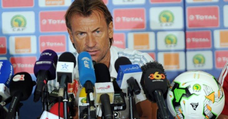 التسجيل الكامل للقاء الصحافي للناخب الوطني قبل مباراة الأسود أمام طوغو
