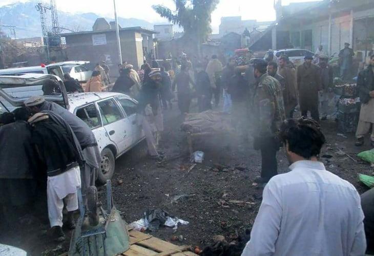 أزيد من 20 قتيلا على الأقل في انفجار بسوق للخضروات في باكستان