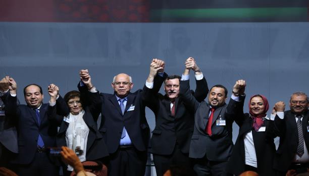 وزراء خارجية دول جوار ليبيا يشددون على التمسك بالاتفاق السياسي الليبي الموقع بالصخيرات