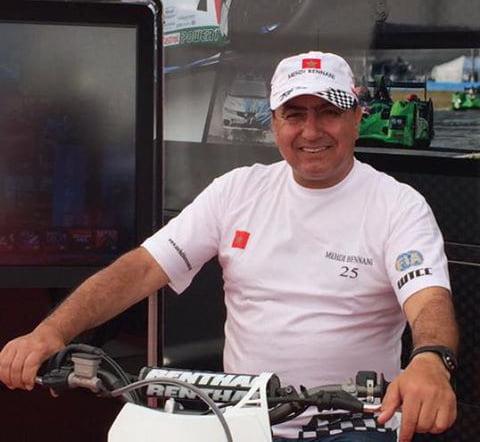 وفاة والد البطل المغربي في سباقات السيارات السياحية المهدي بناني بمراكش