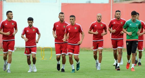 المنتخب المغربي يستعد لقمة الحسم أمام