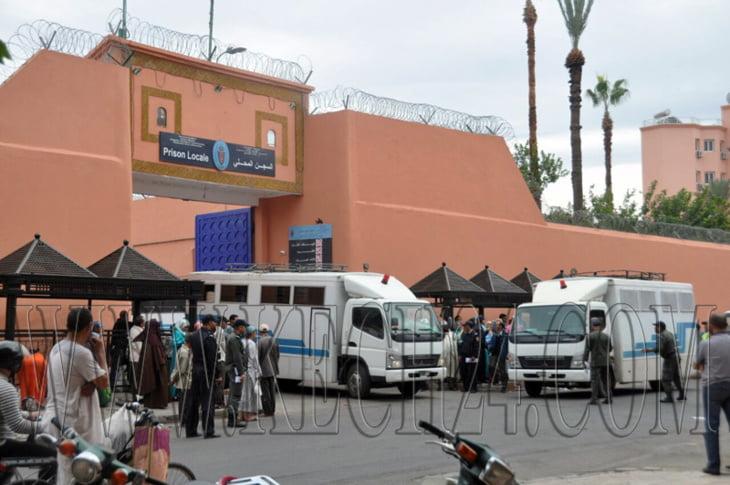تقرير يصف سجن مراكش بالاكثر ازدحاما ومندوبية التامك ترد