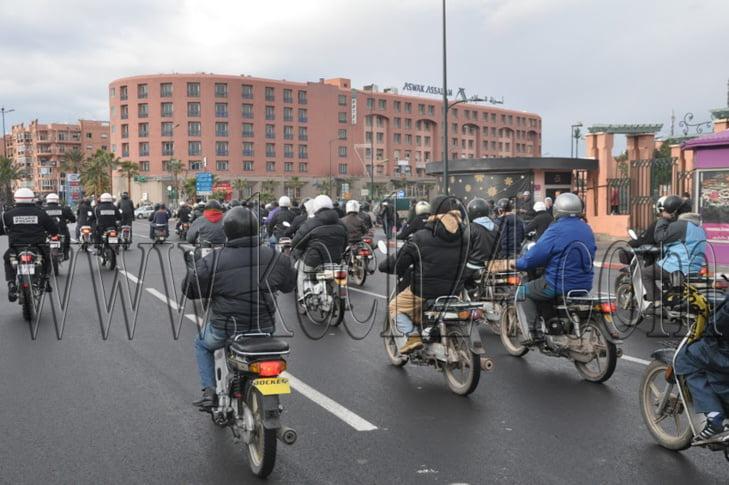 أصحاب دراجات