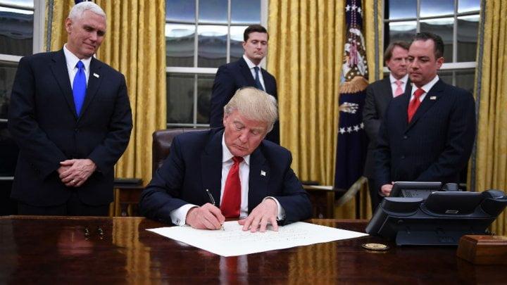 أول قرار دولي لترامب.. أميركا تنسحب من اتفاق تجارة ينهي الشراكة مع 12 دولة