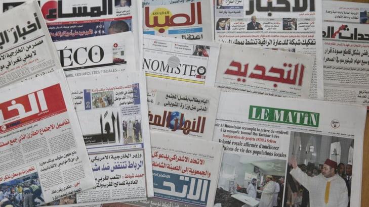 عناوين الصحف: 800 مذكرة بحث في حق ضحايا