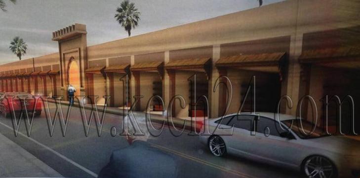 بالصور: هكذا سيصير سوق سيدي ميمون بمراكش بعد إعادة تهيئته