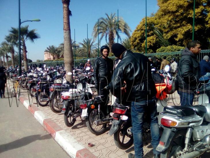 الجمعية المغربية لحقوق الإنسان تدخل على خط ملف أصحاب دراجات