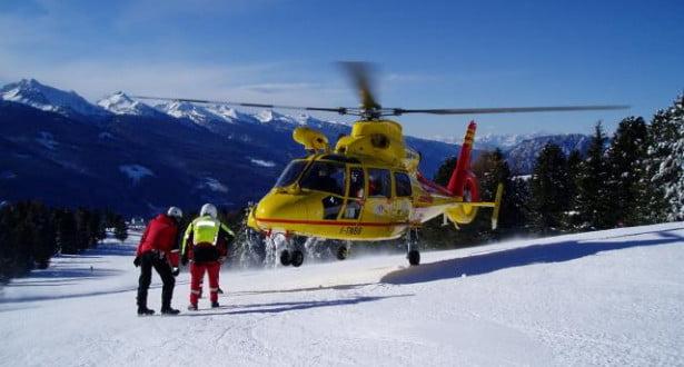 مصرع ستة ركاب في حادث تحطم مروحية إنقاذ إيطالية