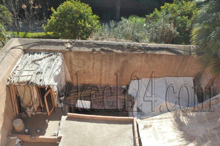 هكذا استولى شخص على ضريح وحوّله إلى مسكن بمراكش أمام أنظار الأوقاف وصمت السلطات + صور