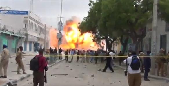 سبعة قتلى على الأقل في الهجوم على فندق بالعاصمة الصومالية مقديشيو