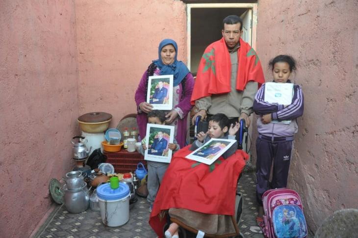 في عز البرد.. تشريد أسرة بعد هدم منزلها من طرف السلطة بتسلطانت نواحي مراكش + فيديو وصور