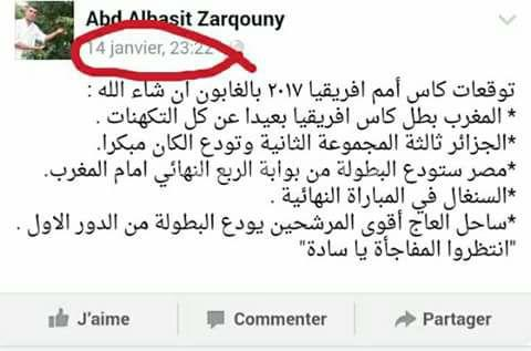 تنبؤات مغربي تتحقق في