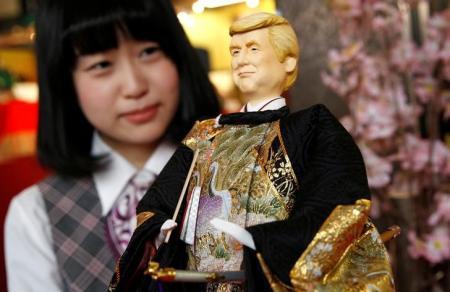 شركة للدمى اليابانية تطرح دمية ترامب يوم عيد الفتيات