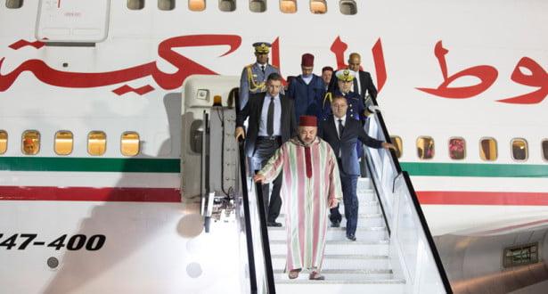 الملك محمد السادس يبدأ زيارة جديدة لدول افريقيا تبدأ من هذا البلد