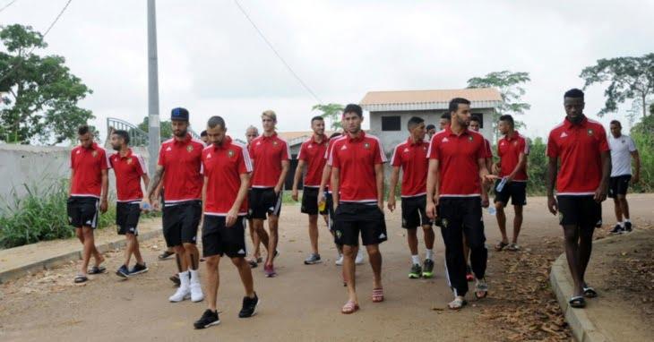 لاعبو المنتخب المغربي يعيشون جحيما في بورجونتي بالغابون قبيل مباراة مصر