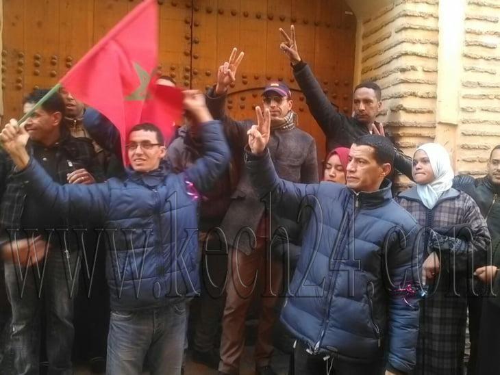 عاجل: احتجاز عمال داخل مطعم بالمدينة العتيقة لمراكش + فيديو