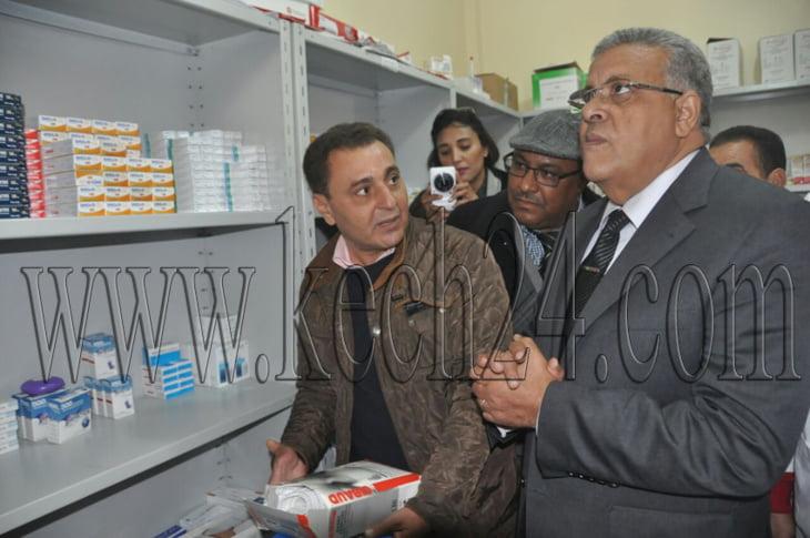 بالصور: استفادة نزلاء دار البر والإحسان بمراكش من قافلة طبية والوالي لبجيوي يواكب المبادرة