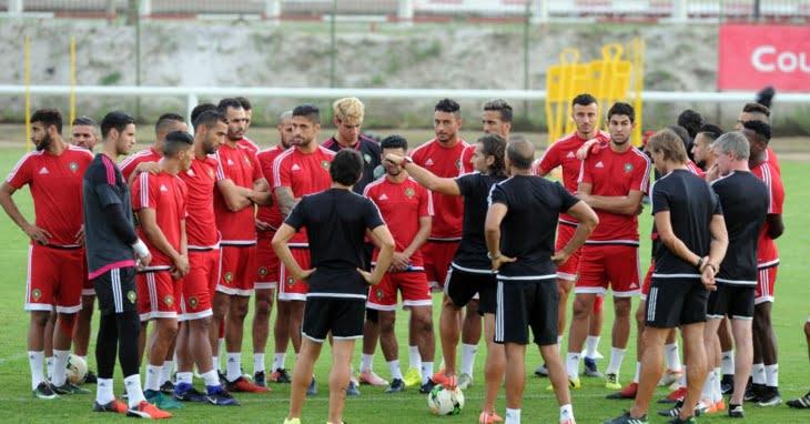 هذا هو برنامج المنتخب المغربي يومه السبت استعدادا للقاء الفراعنة