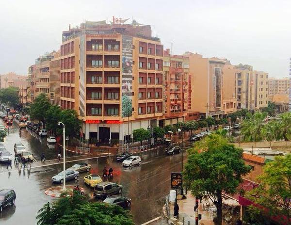 هذه مقاييس التساقطات المطرية المسجلة بمراكش وعدد من المدن خلال الـ 24 ساعة الماضية