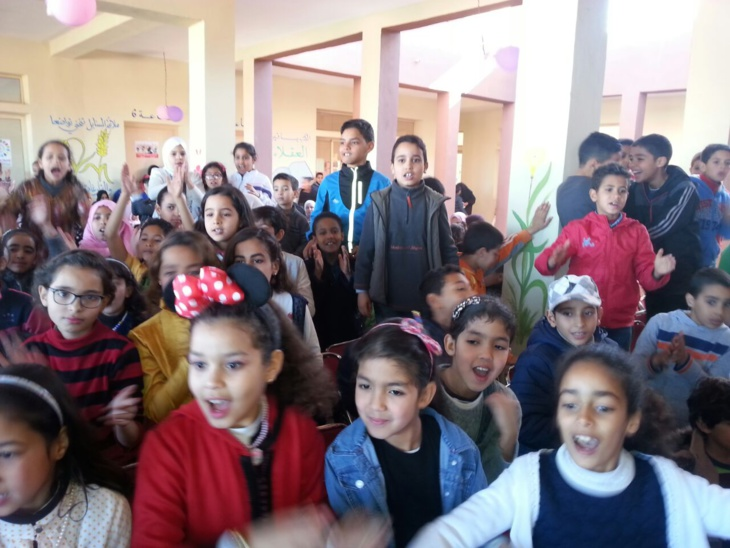 بالصور: جمعية أمهات وآباء التلاميذ بمدرسة دار السلام تحتفل بمناسبة نهاية الأسدس الأول