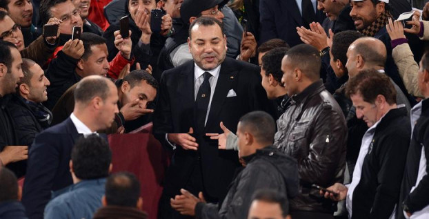 الملك يدعم أعضاء المنتخب المغربي قبيل لقاء مصر