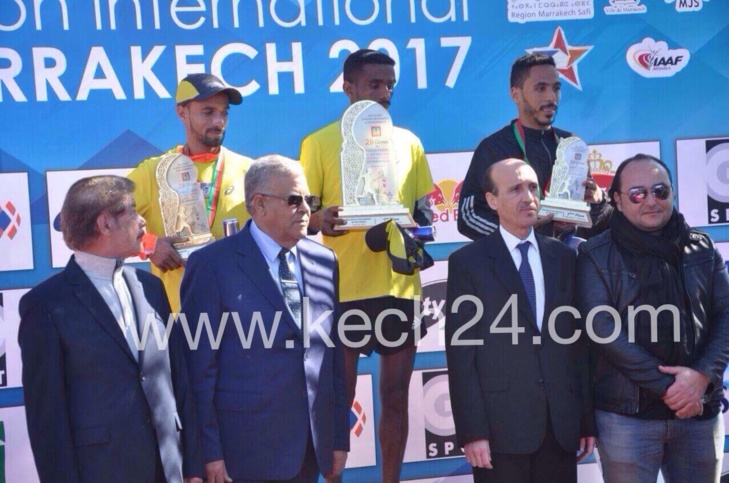عاجل: سيطرة إثيوبية على مارطون مراكش في نسخته 28 والمغرب وصيفا