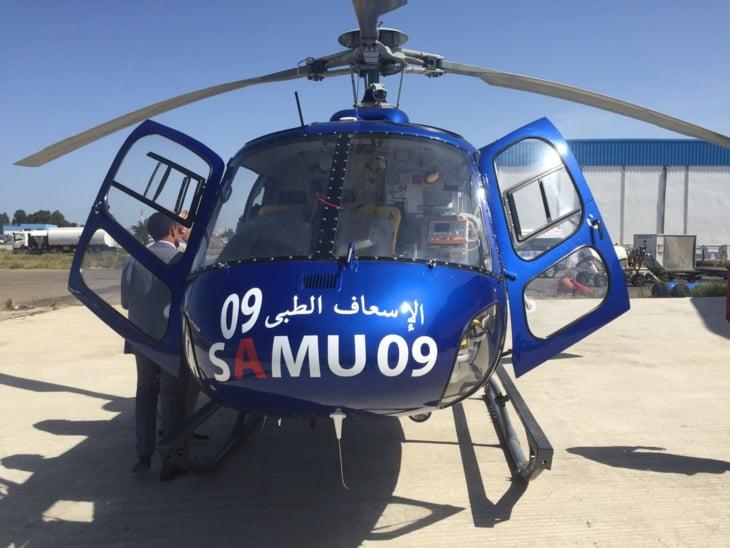 وزارة الصحة تدفع بفريق طبي على متن طائرة مروحية إلى هذا الدوار بأعالي أوكايمدن ضواحي مراكش