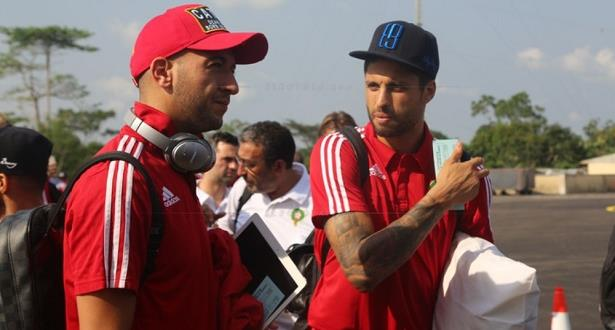 بعثة المنتخب المغربي تغادر مدينة 'بورجونتي' يوم غد الثلاثاء