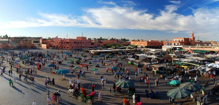 فنانون مغاربة وأجانب يلتئمون بالمعرض الدولي للفنون التشكيلية بمراكش