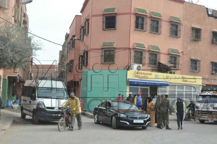 الوالي لبجيوي يتفقد مرافق عامة ويتواصل مع المواطنين بحي إيزيكي بمراكش + صور