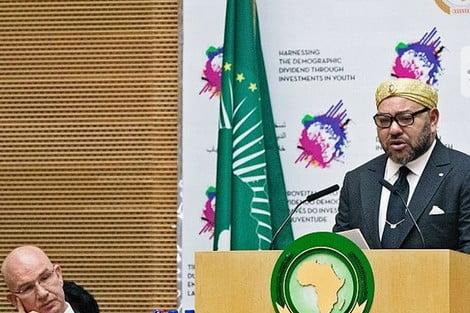 نص الخطاب السامي الذي القاه جلالة الملك أمام المشاركين في القمة الافريقية
