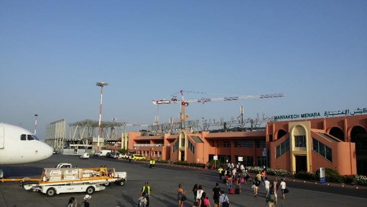 تسجيل إنخفاض في حركة المسافرين بمطار مراكش خلال السنة الماضية