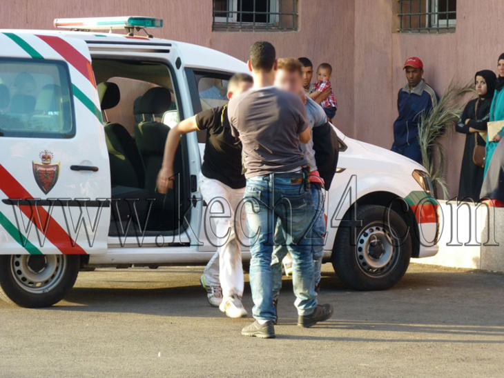 مفتش شرطة بمراكش يعتقل