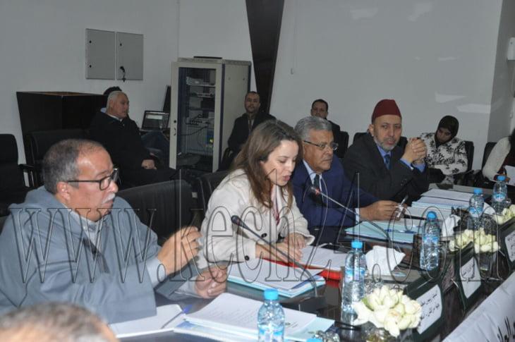 الوزيرة شرفات أفيلال ترأس إجتماعا لمجلس إدارة وكالة الحوض المائي لتانسيفت + صور