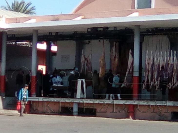 لجنة مختلطة تحل بالمجزرة البلدية بمراكش وكشـ24 تكشف التفاصيل + صور