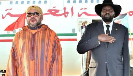 الملك يشرف على تسليم هبة من التجهيزات الطبية لفائدة مستشفى جوبا
