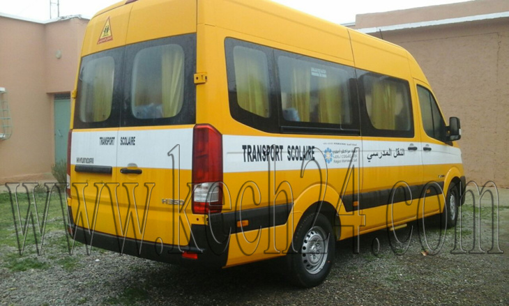 بشرى لتلاميذ سيد الزوين.. مجلس جهة مراكش يضع حدا لمعاناتهم ويمكنهم من سيارة للنقل المدرسي + صور
