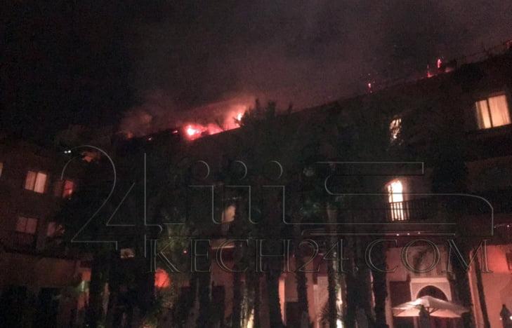 هذا هو سبب الحريق الذي اندلع بفندق مصنف بمراكش وخلق الرعب في صفوف نزلائه