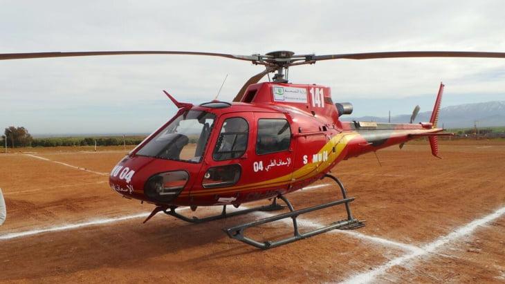 رئيس وحدة الطب الإستعجالي بمراكش يكشف كلفة التدخل الواحد عبر المروحية الطبية