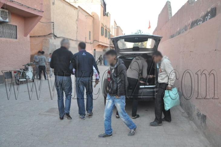 احتقان في أوساط ساكنة حي الرشيدية بالمدينة العتيقة لمراكش + صور