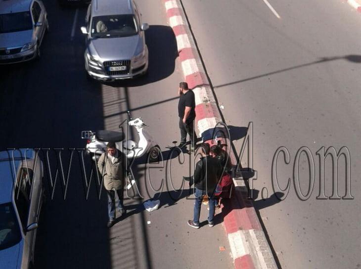 حادثة سير في الطريق الرابطة بين