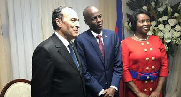حبيب المالكي يمثل الملك محمد السادس في مراسيم تنصيب رئيس هايتي الجديد
