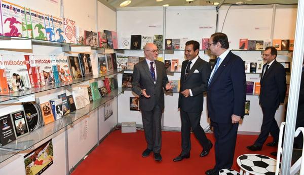 مولاي رشيد يفتتح الدورة الـ23 للمعرض الدولي للكتاب بالبيضاء