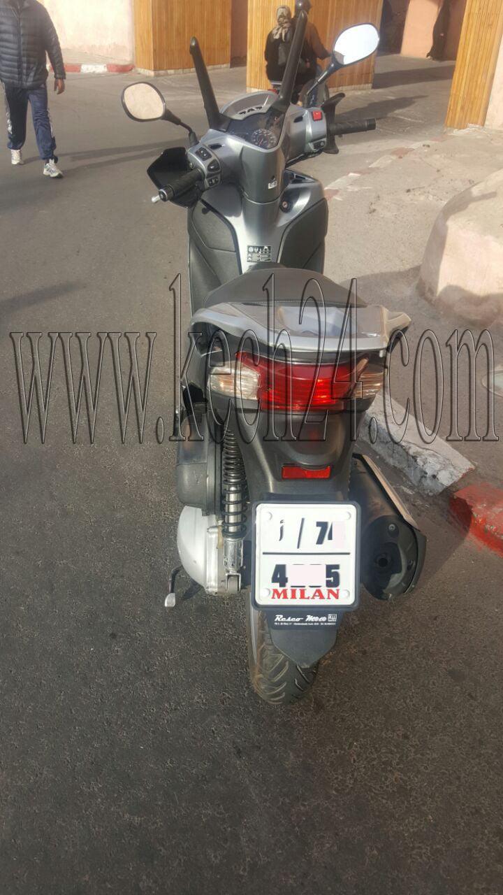 عاجل: الأمن يعتقل شابا يقود دراجة نارية كبيرة بسرعة فائقة بمراكش + صور
