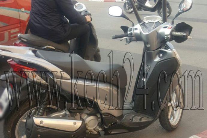 صاحب الدراجة النارية الموقوف قرب الإقامة الملكية بمراكش يوضح